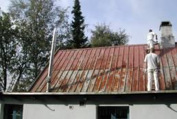 Holstensk rygning på sommerhus i Gilleleje